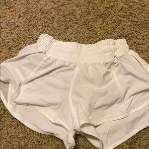 Lululemon athletic shorts size 0